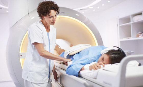 проведение мрт сканирования мягких тканей шеи